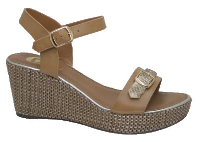 Γυναικεία Πλατφόρμα YBZ8215 Μπεζ - IqShoes - YBZ8215 beige 37/1/7/27 προϊόντα παπούτσια