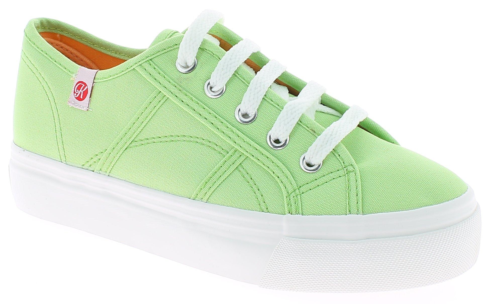 IQSHOES Γυναικείο Casual 145401 Λαχανί - IqShoes - 145401 VERDE green 37/1/4/27 προϊόντα παπούτσια