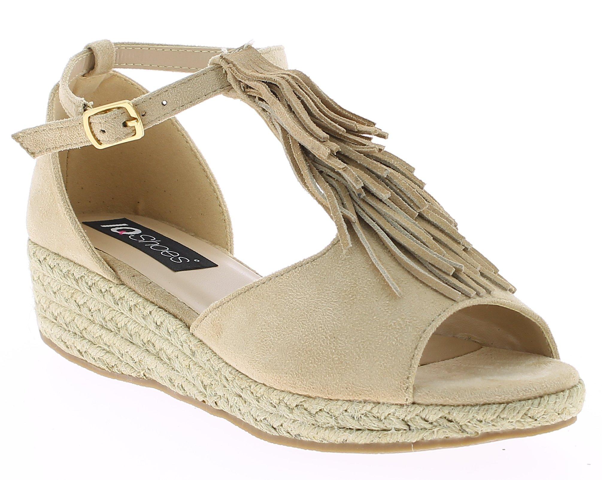IQSHOES Γυναικείο Πέδιλο 3H048 Μπεζ - IqShoes - 18.3H048 BEIGE-IQSHOES-beige-37/ παπούτσια  προσφορεσ