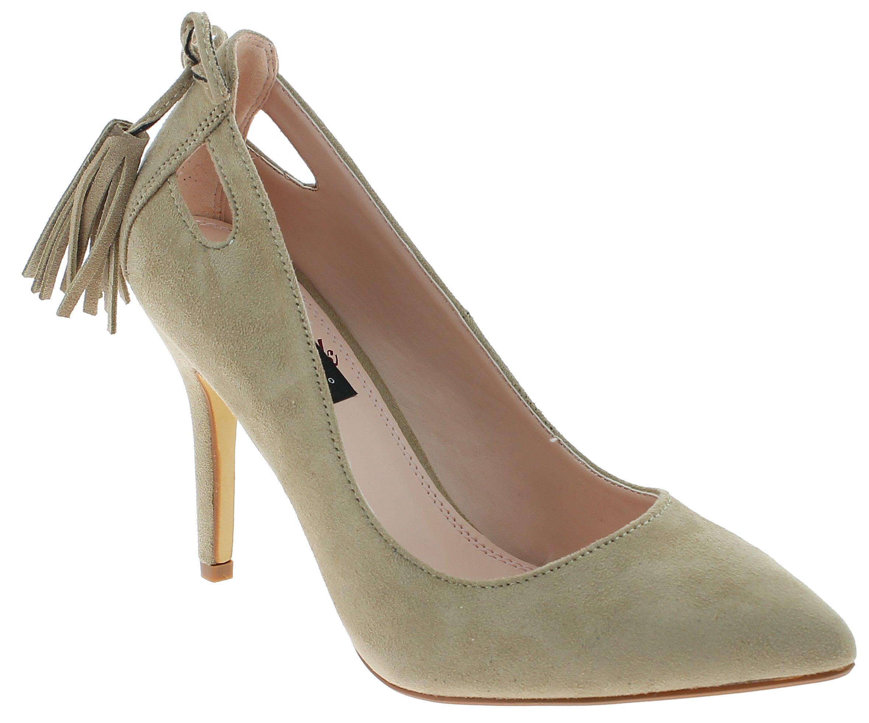 IQSHOES Γυναικεία Γόβα X-3096 Μπεζ - IqShoes - X-3096 BEIGE-36/1/7/7 παπούτσια  προσφορεσ