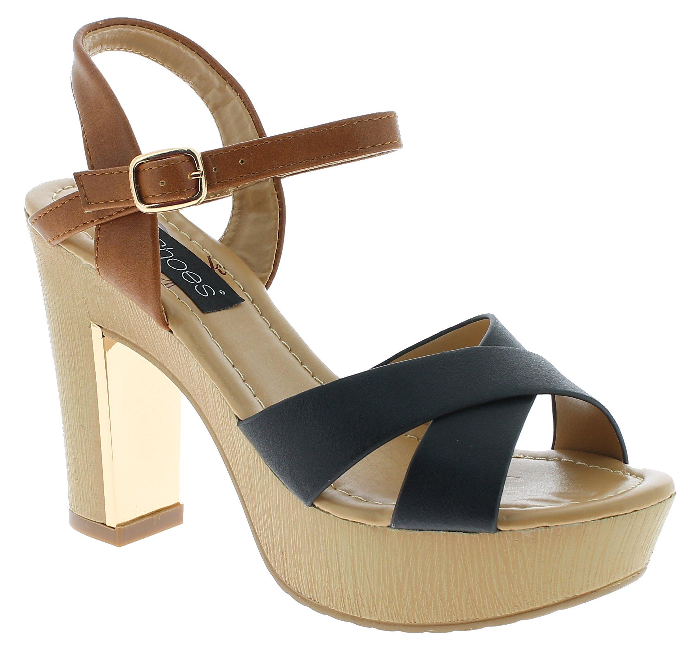 IQSHOES Γυναικείο Πέδιλο Y5503 Μαύρο - IqShoes - 18.Y5503 BLACK -IQSHOES-black-3 παπούτσια  γυναικεία σανδάλια   πέδιλα