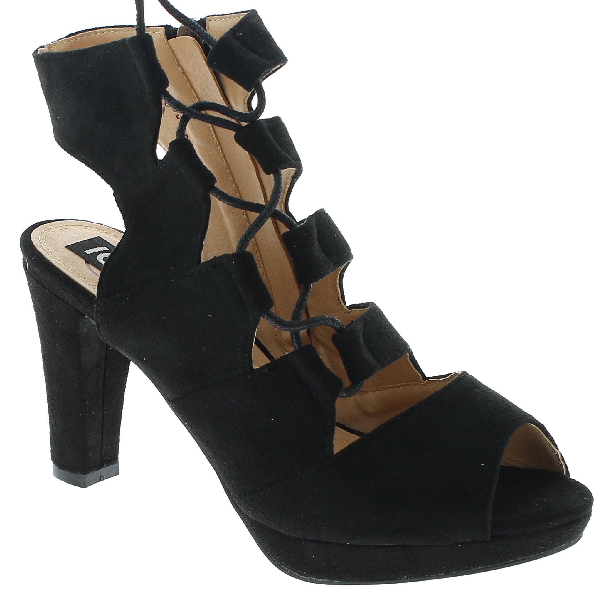 Πέδιλο Γυναικείο Y5519 Μαύρο - IqShoes - 18.Y5519 BLACK-38/1/15/11 παπούτσια  γυναικεία σανδάλια   πέδιλα