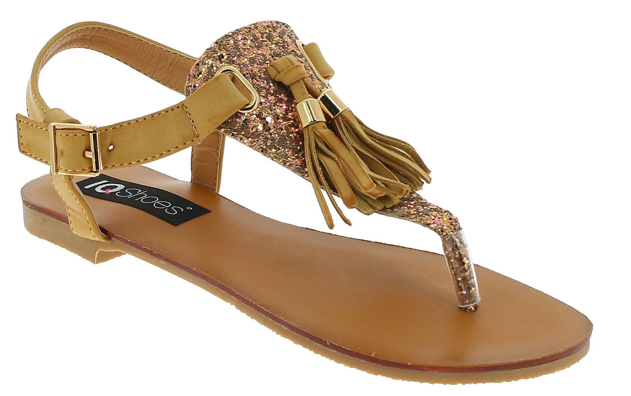 Πέδιλο Γυναικείο MY6711 Κάμελ - IqShoes - 18.MY6711 CAMEL-39/1/25/25 παπούτσια  προσφορεσ