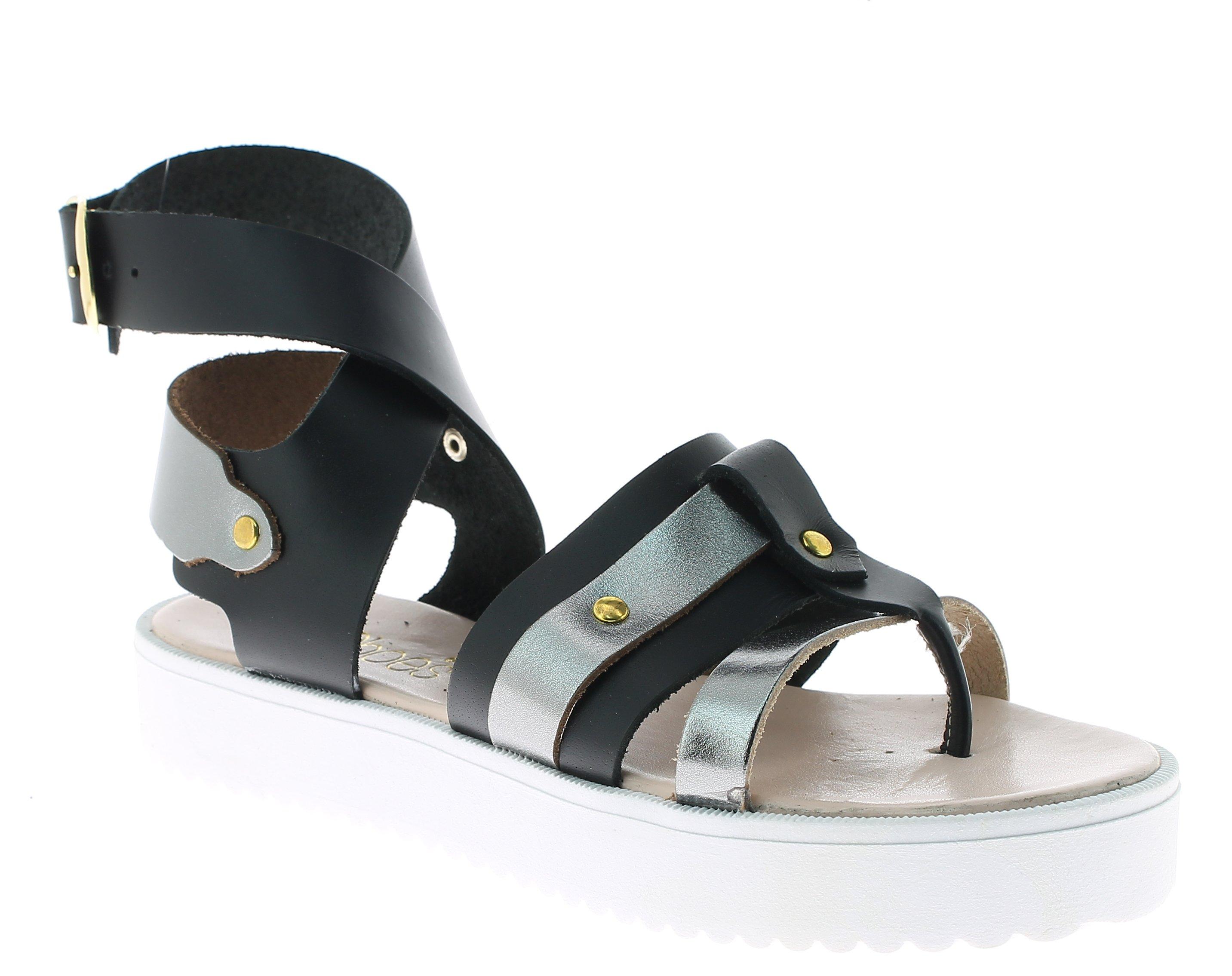 IQSHOES Γυναικείο Πέδιλο B45 Μαύρο - IqShoes - 50.B45T BLACK -IQSHOES-black-40/1 παπούτσια  προσφορεσ