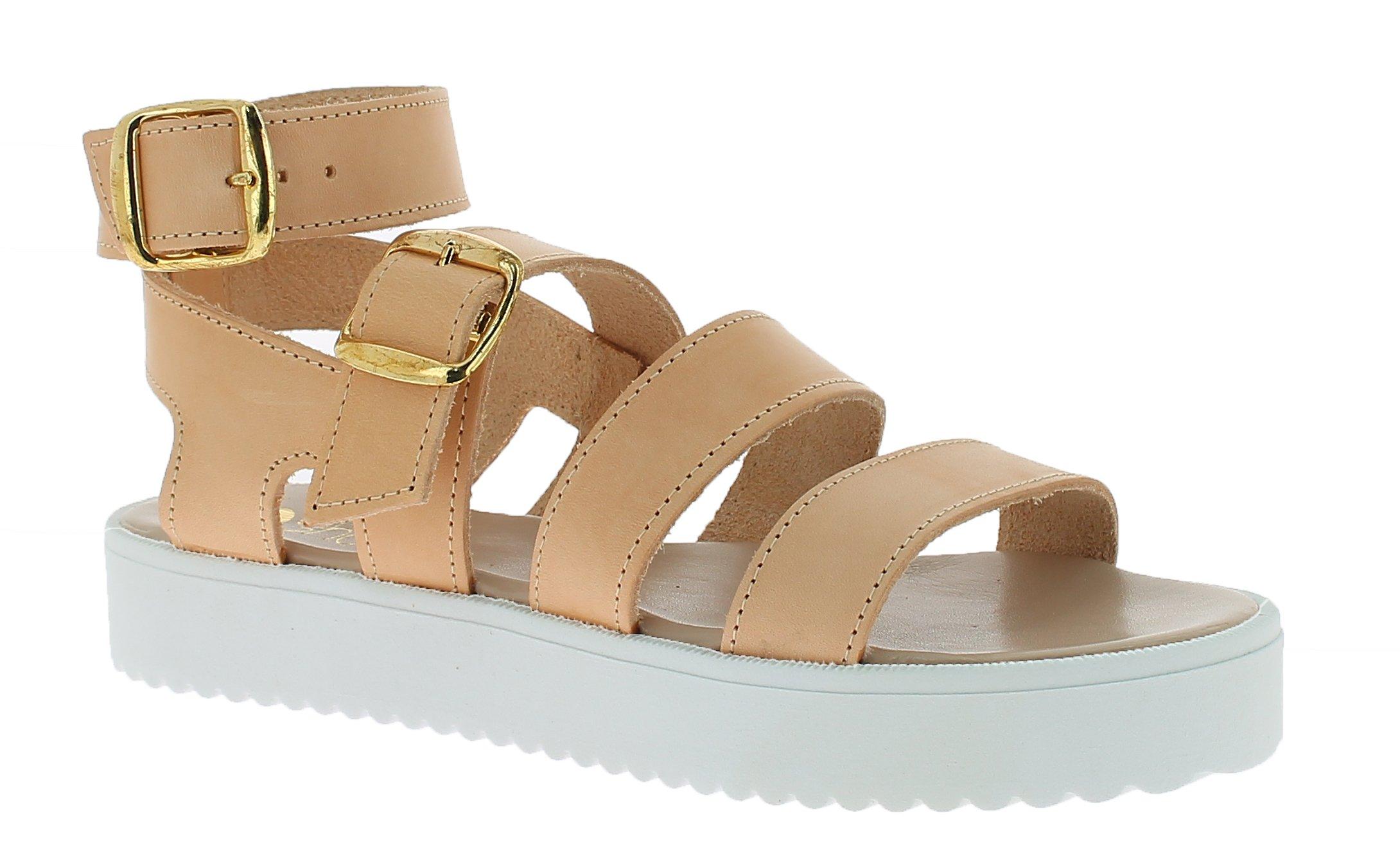 IQSHOES Γυναικείο Πέδιλο B85 Κάμελ - IqShoes - 50.B85 camel -camel-38/1/25/11 παπούτσια  προσφορεσ