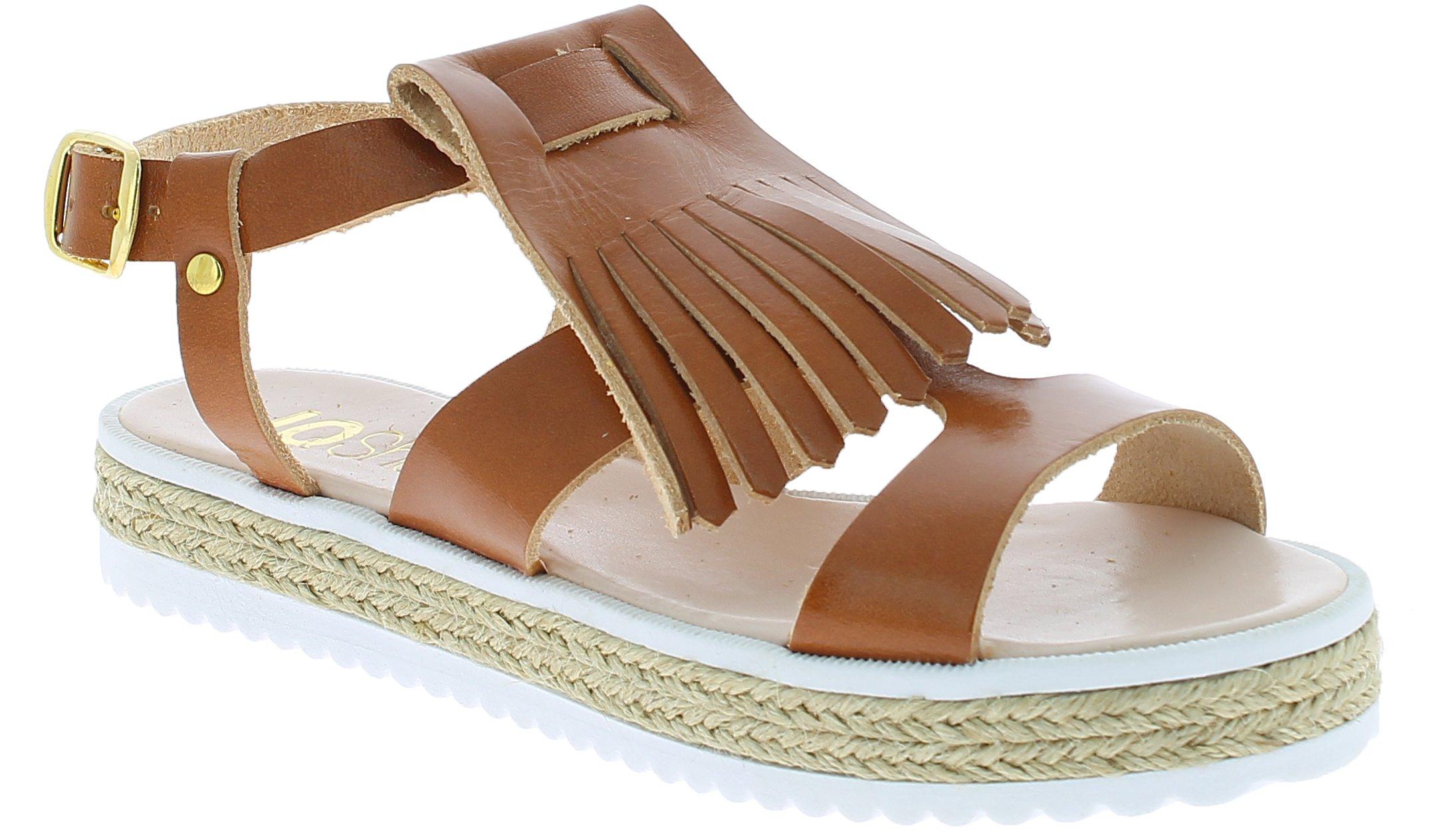 IQSHOES Γυναικείο Πέδιλο B90 Κάμελ - IqShoes - 50.B90K-camel-37/1/25/27 παπούτσια  προσφορεσ