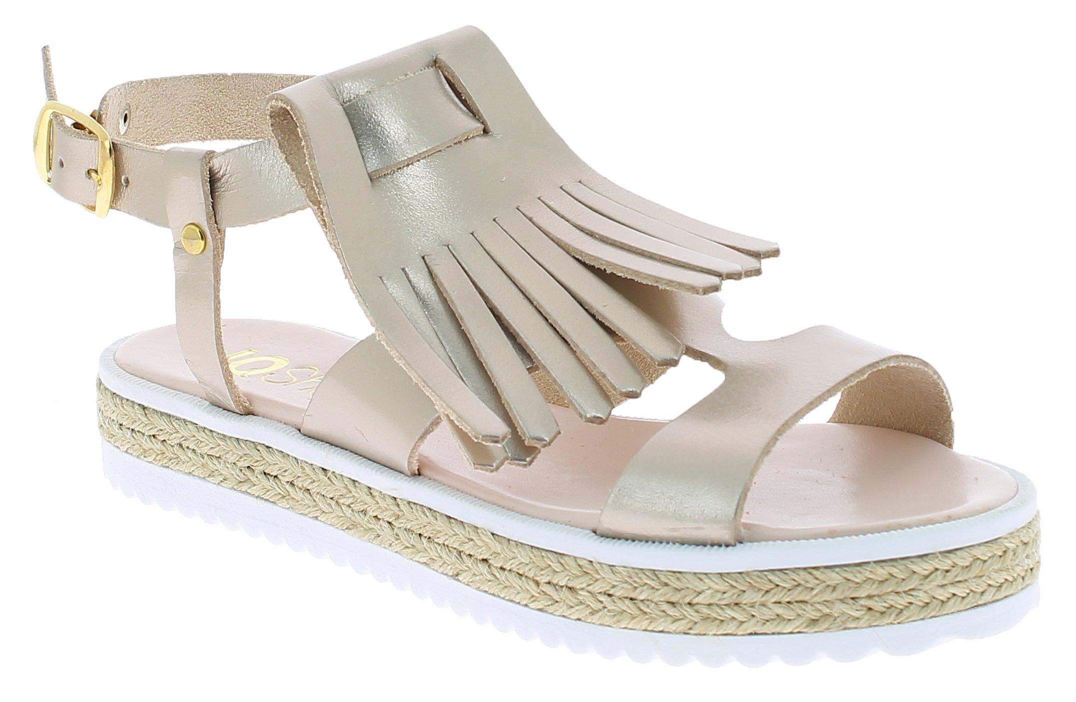 IQSHOES Γυναικείο Πέδιλο B90 Χρυσό - IqShoes - 50.B90K gold-gold-37/1/34/27 παπούτσια  προσφορεσ