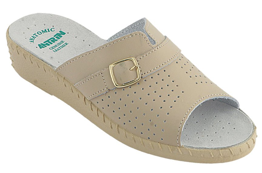 ANTRIN Γυναικείο Comfort 214 Μπεζ - IqShoes - 214 BEIGE-beige-35/1/7/29 παπούτσια  προσφορεσ