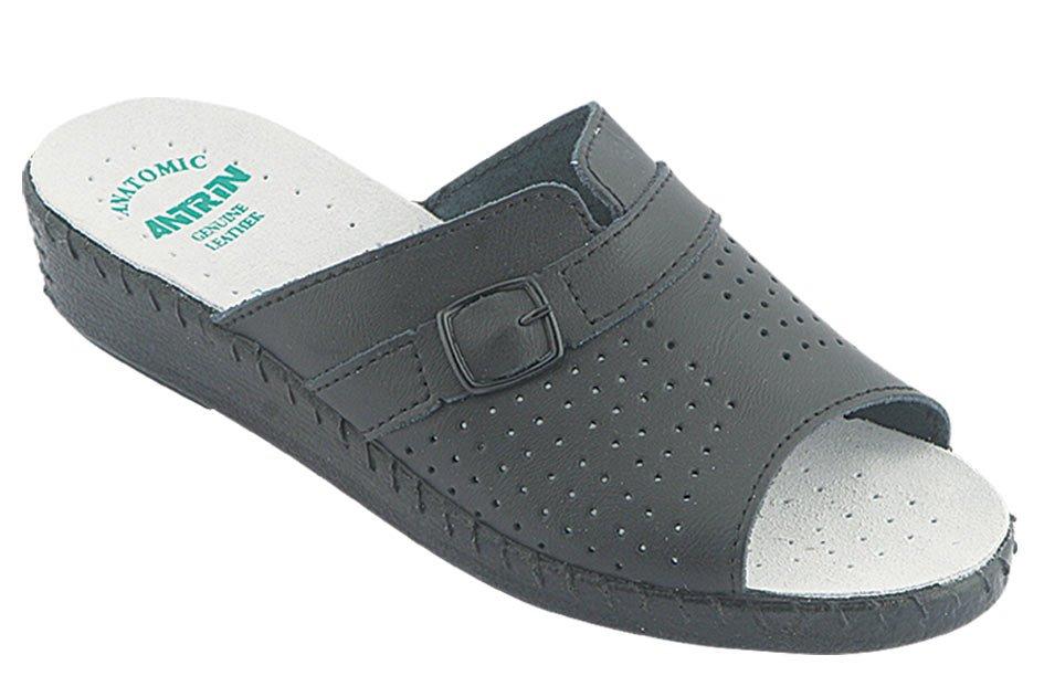 ANTRIN Γυναικείο Comfort 214 Μαύρο - IqShoes - 214 BLACK-black-38/1/15/11 παπούτσια  προσφορεσ