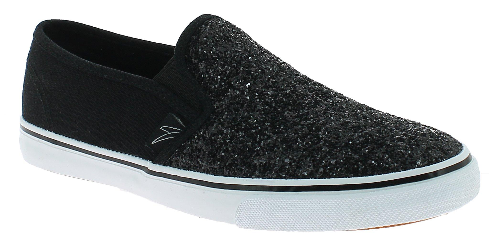 MADIGAN Γυναικείο Casual VITTORIA Μαύρο - IqShoes - VITTORIA BLACK-black-37/1/15 προϊόντα παπούτσια