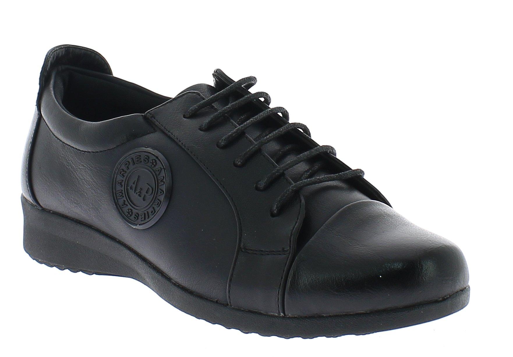 AMARPIES Γυναικεία Comfort AKT9808 Μαύρο - IqShoes - AKT9808 BLACK-black-35/1/15 προϊόντα παπούτσια