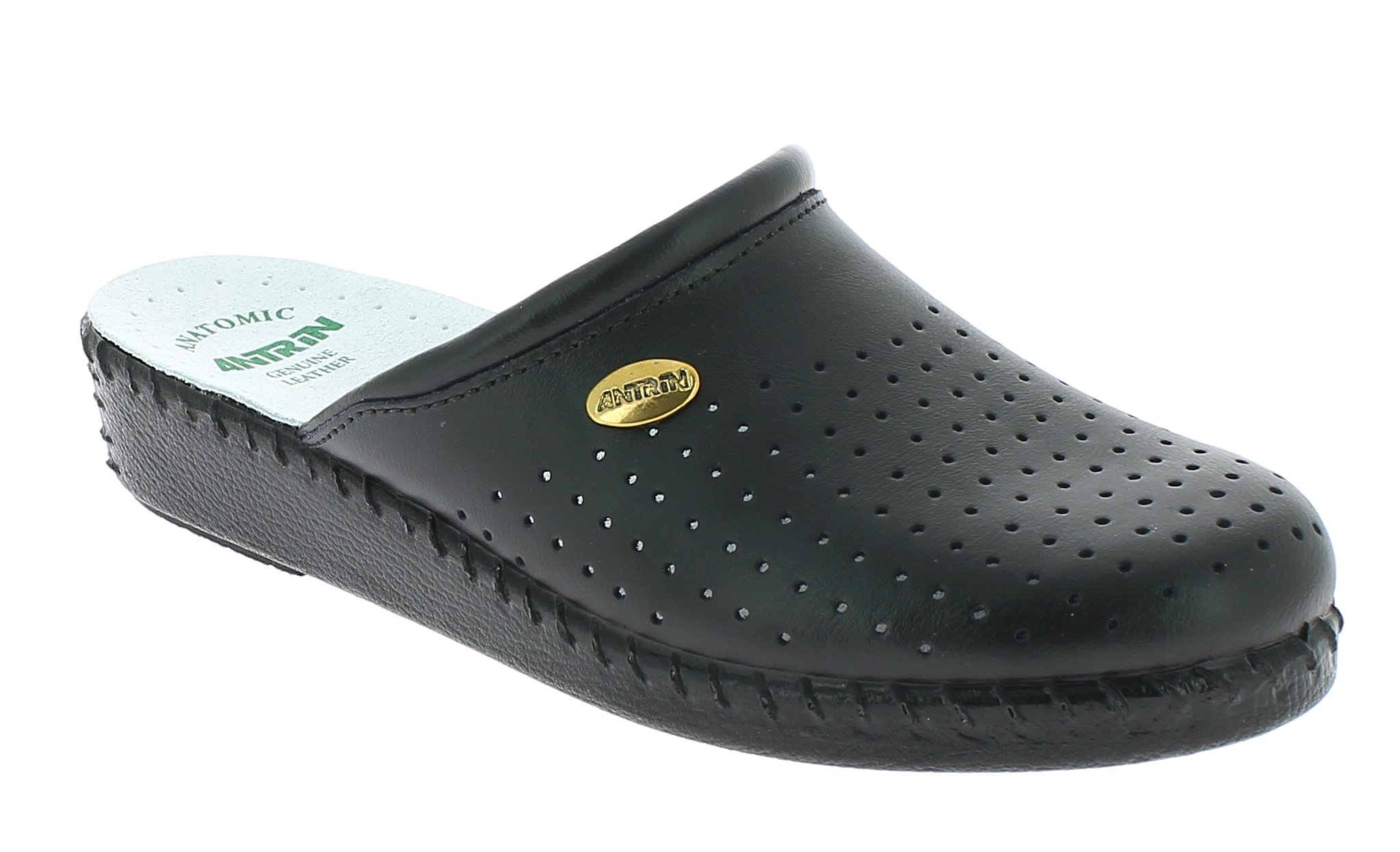 ANTRIN Γυναικείο Comfort 230 Μαύρο - IqShoes - 230 BLACK-black-35/1/15/29 προϊόντα παπούτσια
