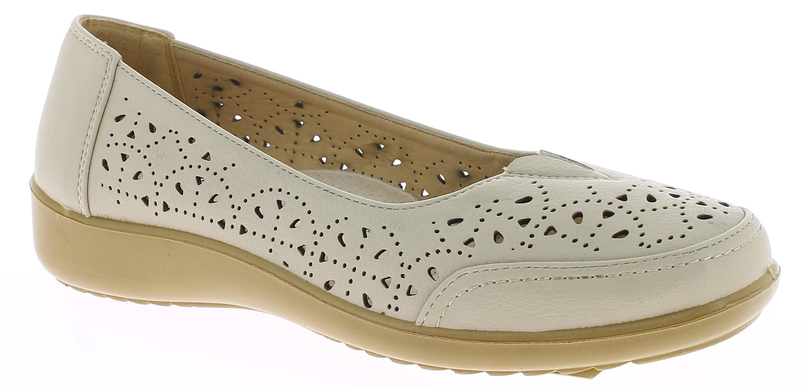 ANTRIN Γυναικείο Comfort NICOLE-105 Μπέζ - IqShoes - NICOLE-105 BEIGE-beige-36/1 προϊόντα παπούτσια