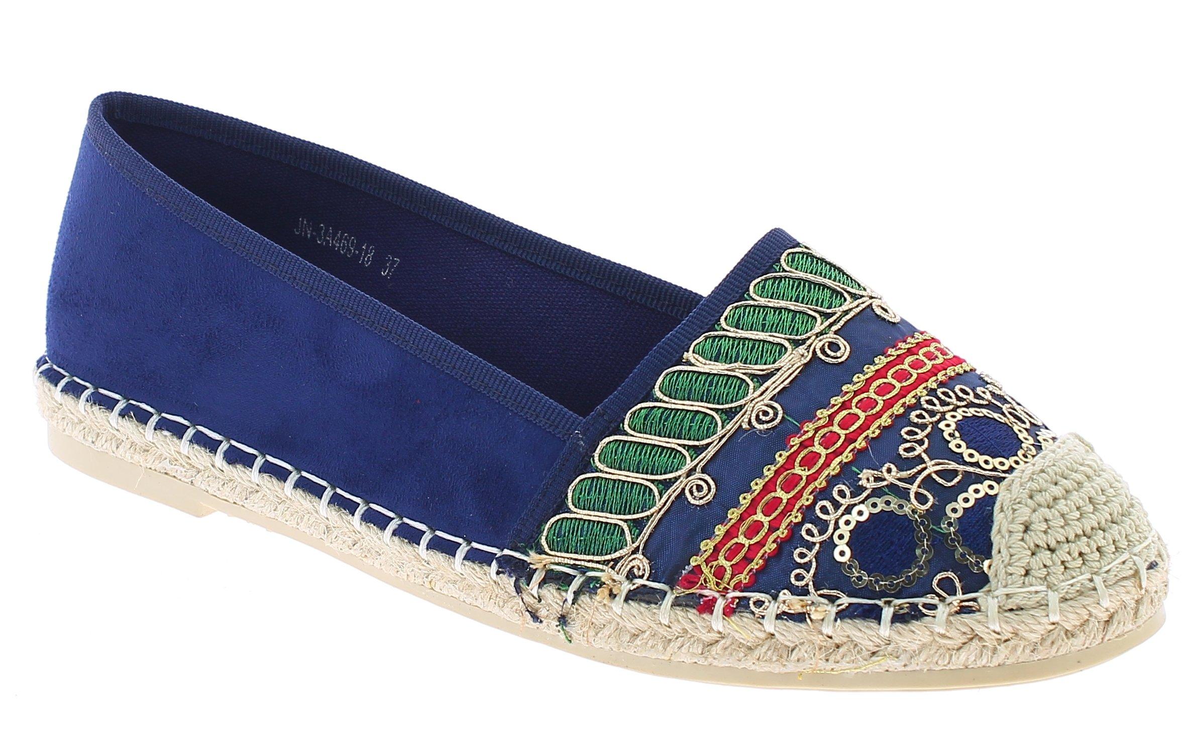 IQSHOES Γυναικείο Casual 3A469 Μπλε - IqShoes - 3A469 BLUE-blue-39/1/23/25 προϊόντα παπούτσια