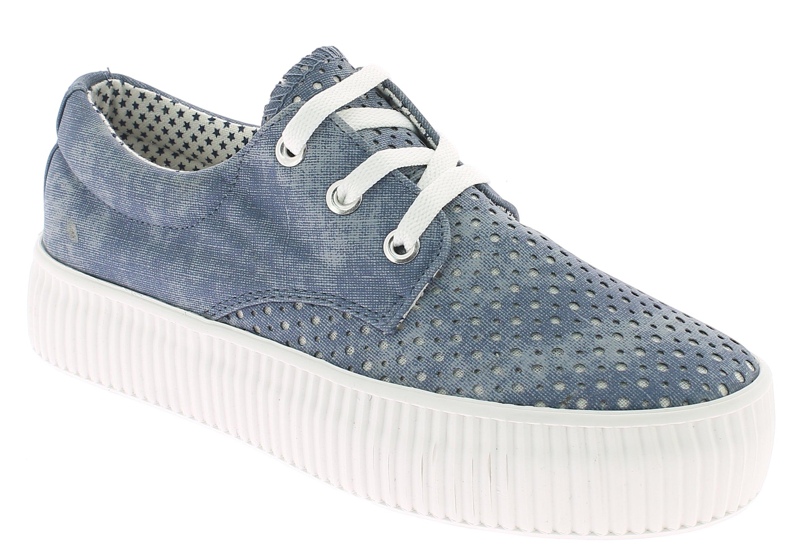 KYLIE Γυναικείο Casual K1720301 Τζίν - IqShoes - Κ1720301 JEAN-blue-36/1/23/7 προϊόντα παπούτσια