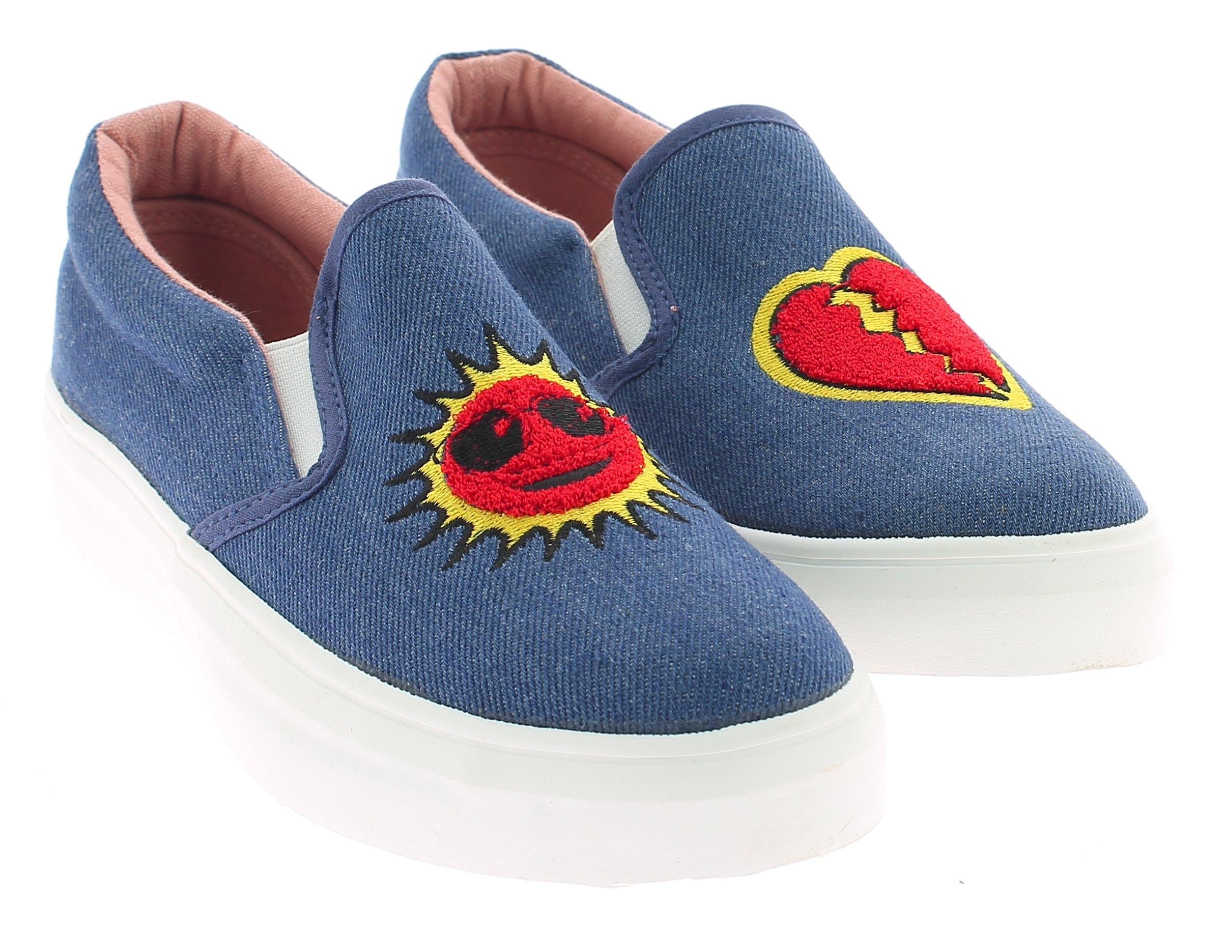 KYLIE Γυναικείο Casual K1720601 Τζίν - IqShoes - Κ1720601 JEAN-blue-41/1/23/28 προϊόντα παπούτσια
