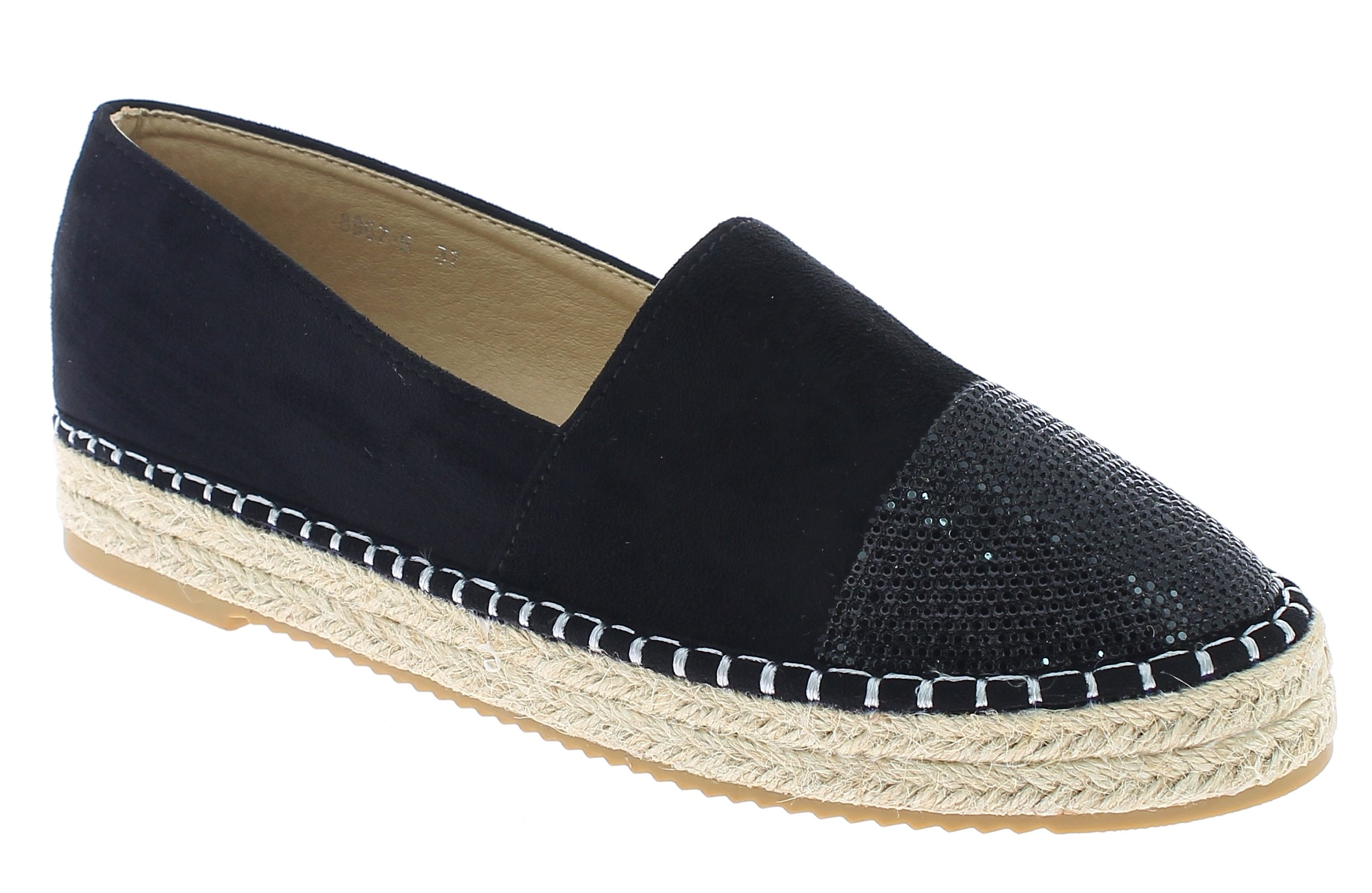 IQSHOES Γυναικείο Casual 8967 Μαύρο - IqShoes - 8967 BLACK-black-38/1/15/11 προϊόντα παπούτσια