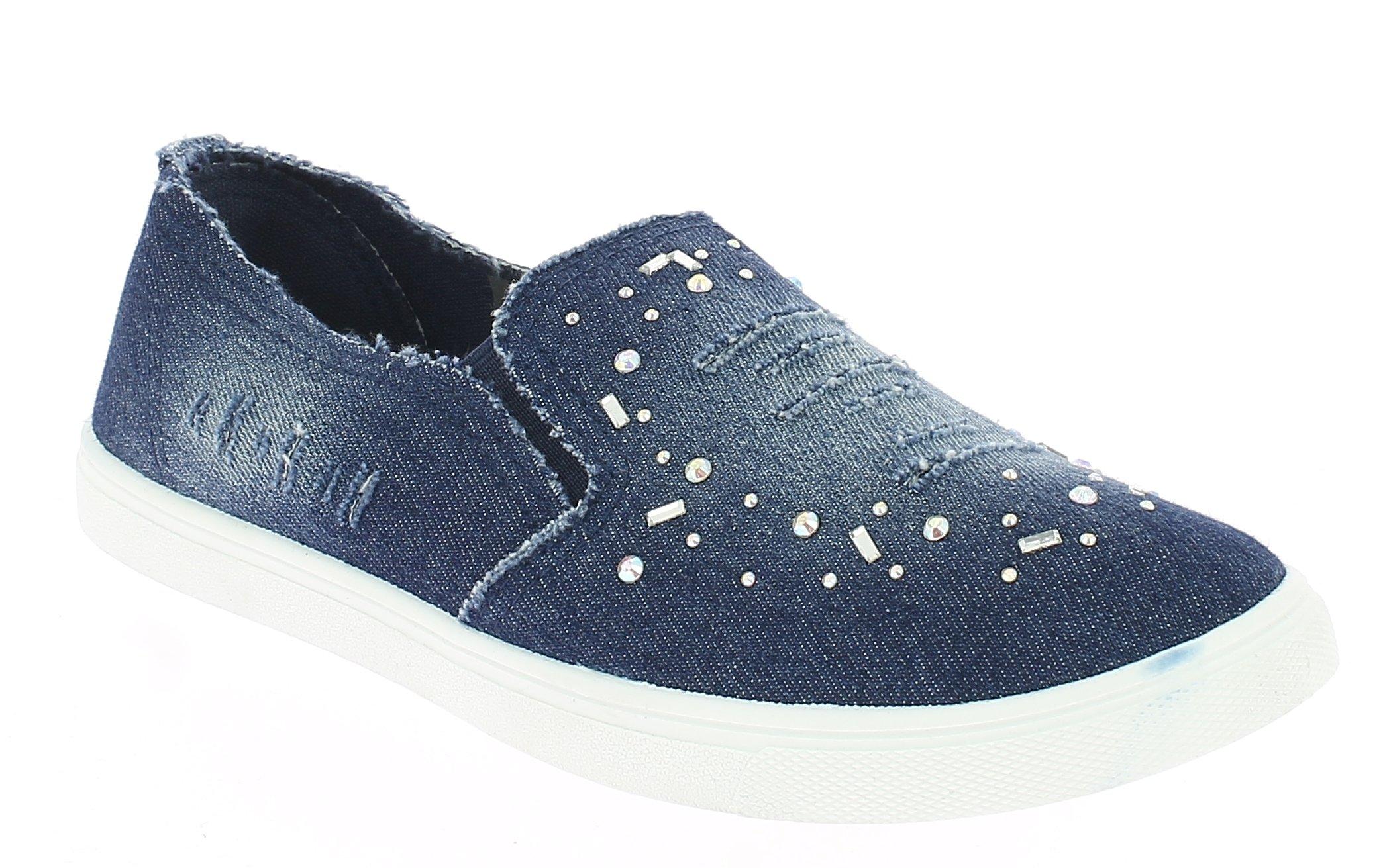 IQSHOES Γυναικείο Casual L-703 Μπλέ - IqShoes - L-703 BLUE-blue-39/1/23/25 προϊόντα παπούτσια