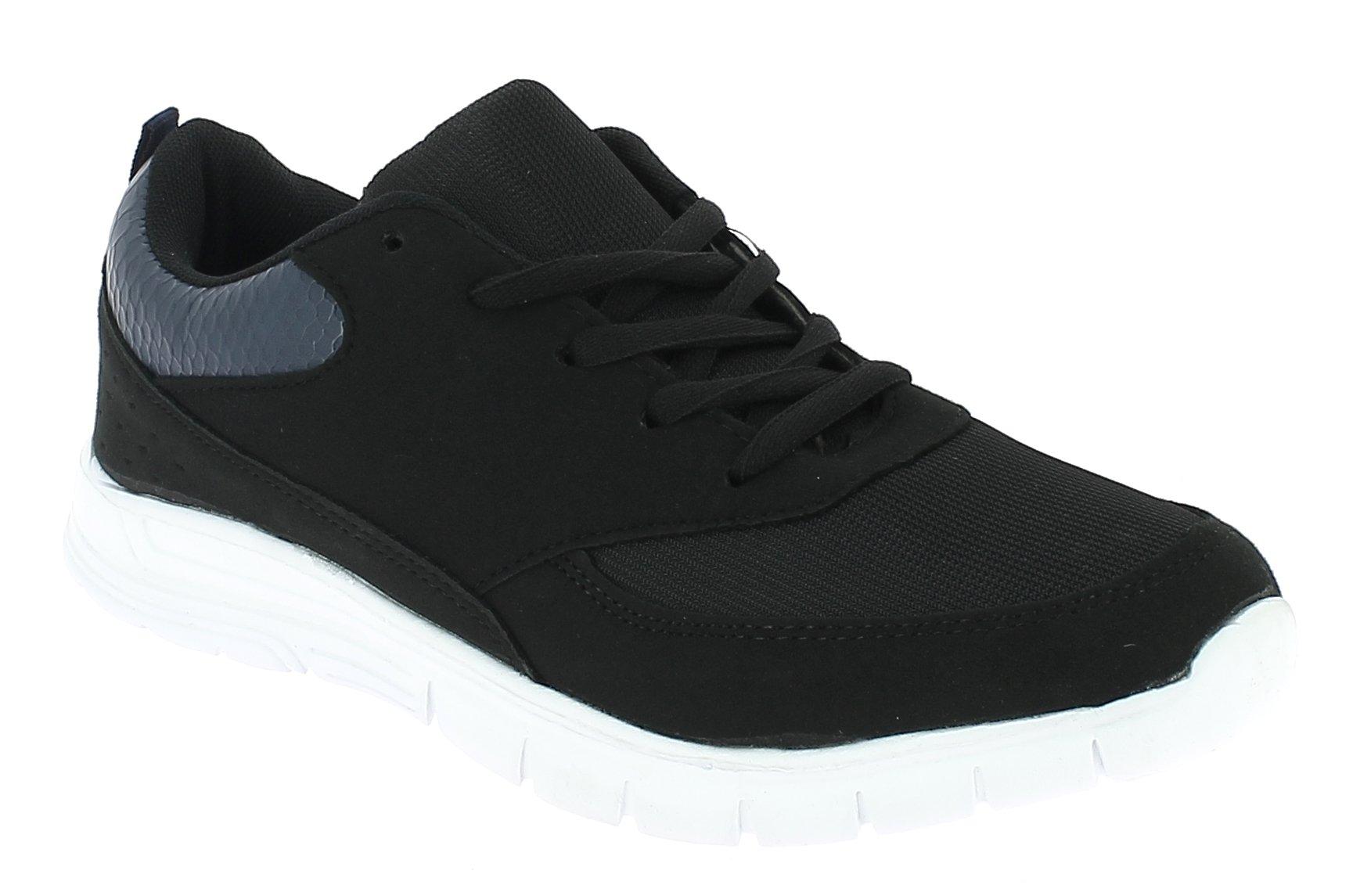 TOPWAY Γυναικείο Casual B414033 Μαύρο - IqShoes - B414033 BLACK -black-38/1/15/1 παπούτσια  αθλητικά   sneakers