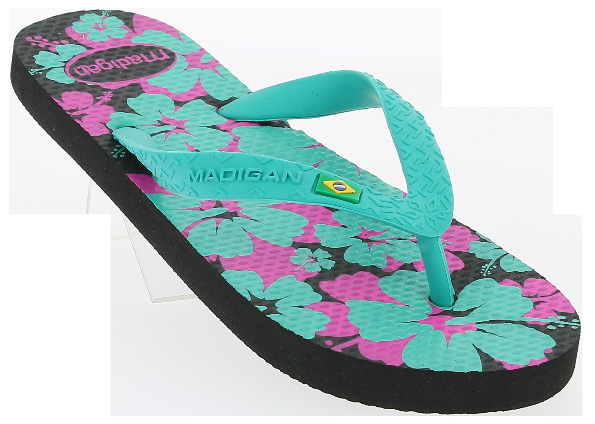 MADIGAN Γυναικεία Σαγιονάρα IBISCO Πετρόλ - IqShoes - IBISCO VERDE-Verde-36/1/4/ προϊόντα παπούτσια