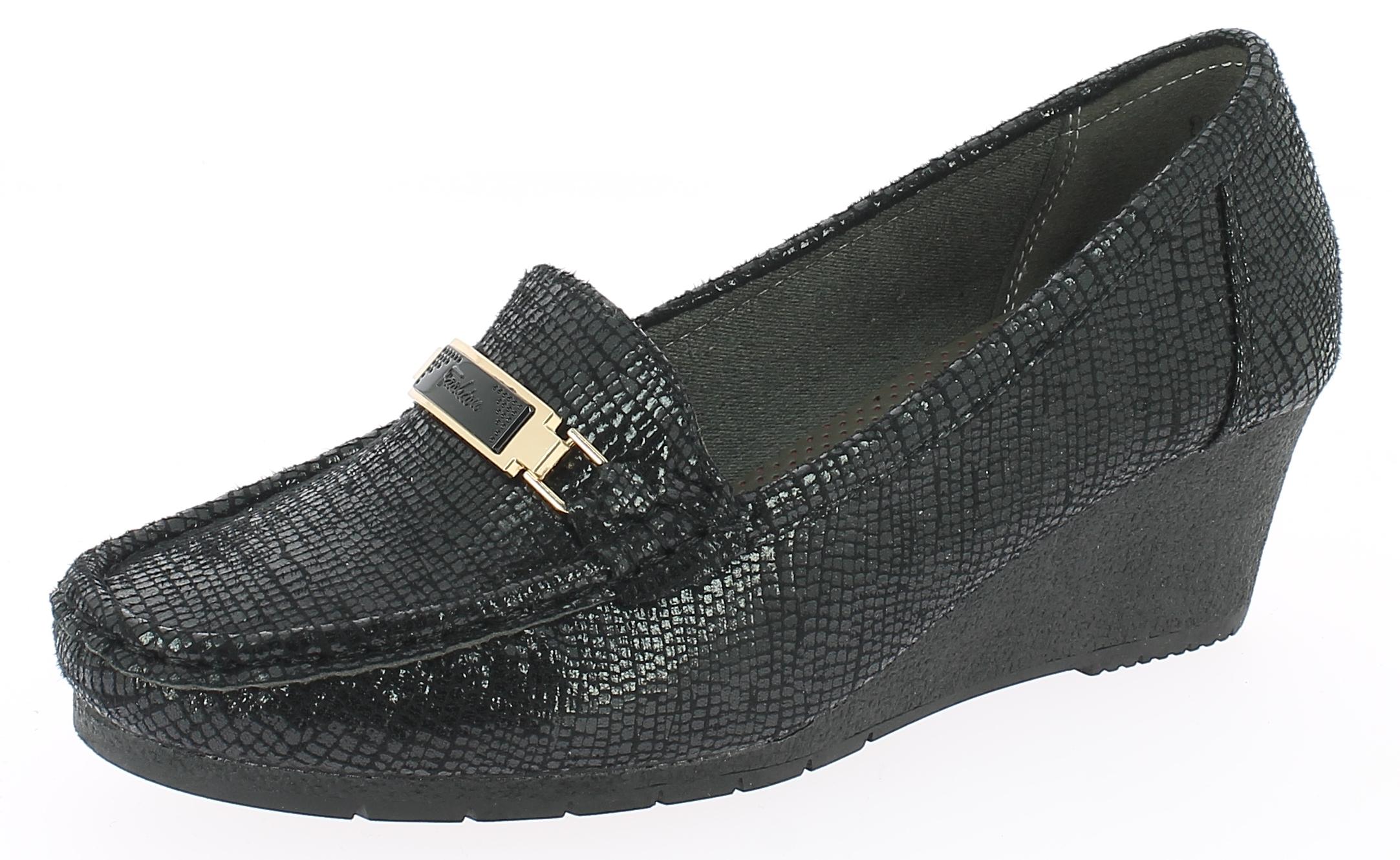 IQSHOES Γυναικείο Comfort 8107 Μαύρο - IqShoes - 8107 BLACK-black-38/1/15/11 παπούτσια  new in