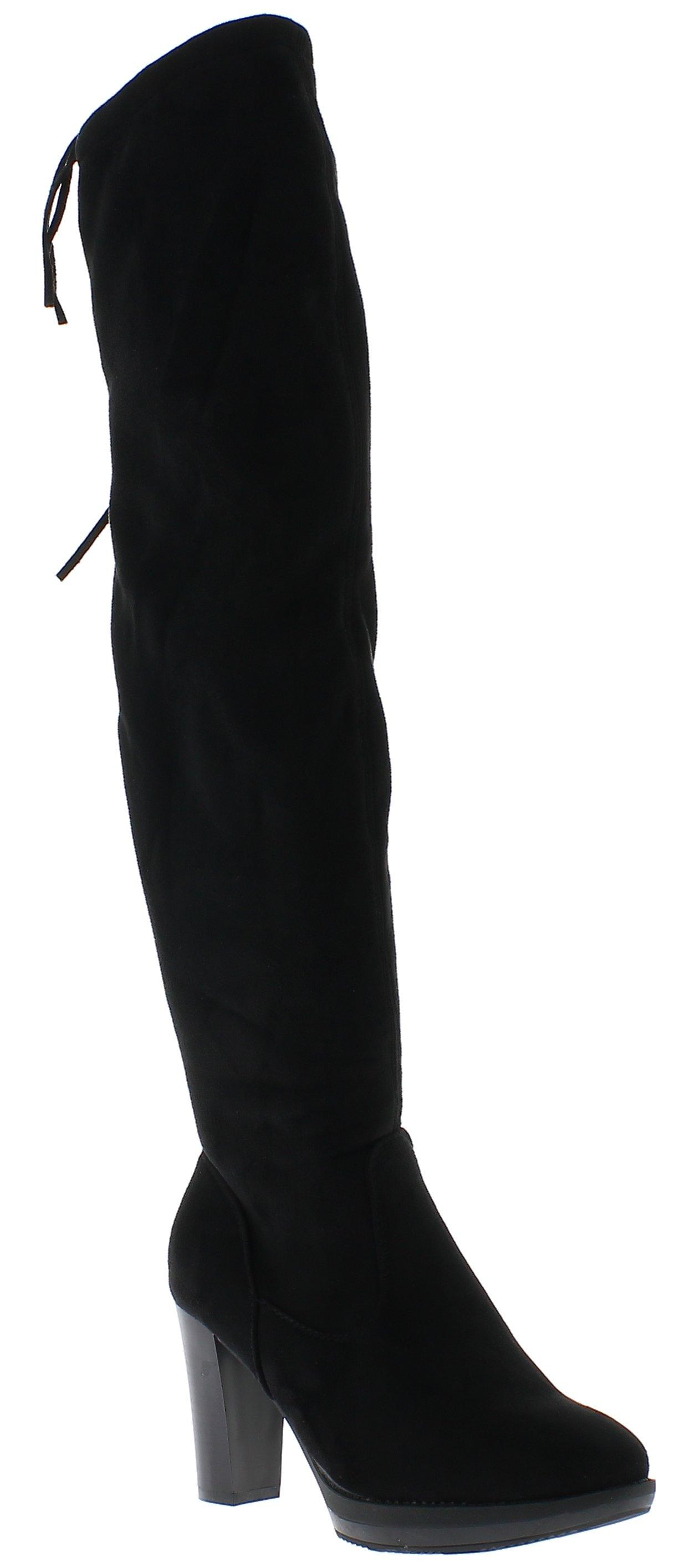 IQSHOES Γυναικεία Μπότα YY8228 Μαύρο - IqShoes - YY8228 BLACK -black-36/1/15/7 παπούτσια  γυναικεία μποτάκια