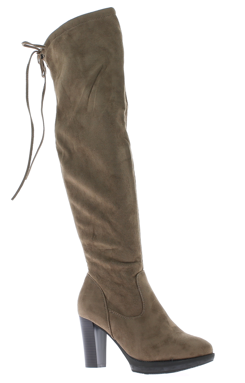 IQSHOES Γυναικεία Μπότα YY8228 Μπεζ - IqShoes - YY8228 KHAKI-beige-39/1/7/25 παπούτσια  new in