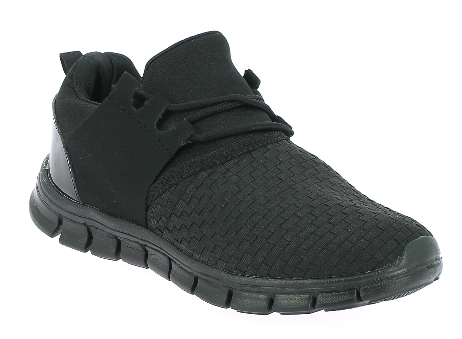 D.T NEW YORK Unisex Αθλητικό B415243 Μαύρο - IqShoes - B415243 BLACK -black-37/1 παπούτσια  new in