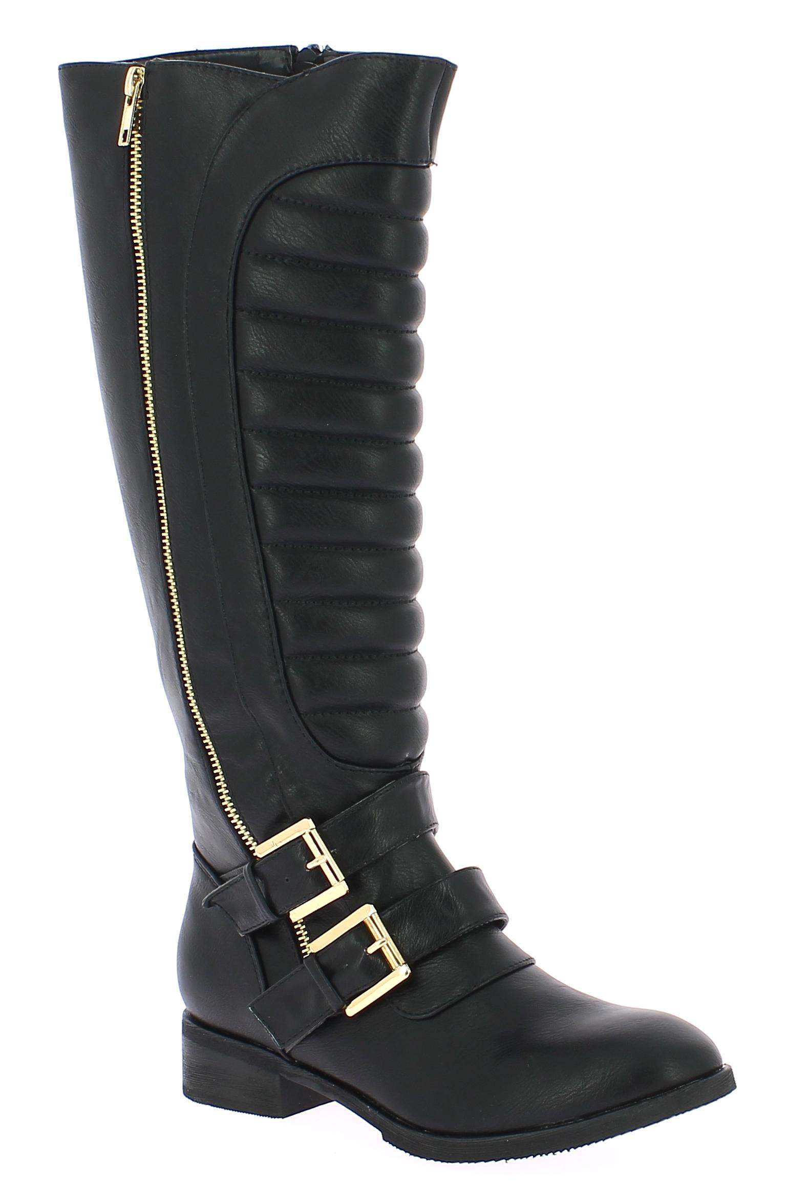 IQSHOES Γυναικεία Μπότα 2878125 Μαύρο - IqShoes - 2.878125 BLACK-black-39/1/15/2 παπούτσια  προσφορεσ