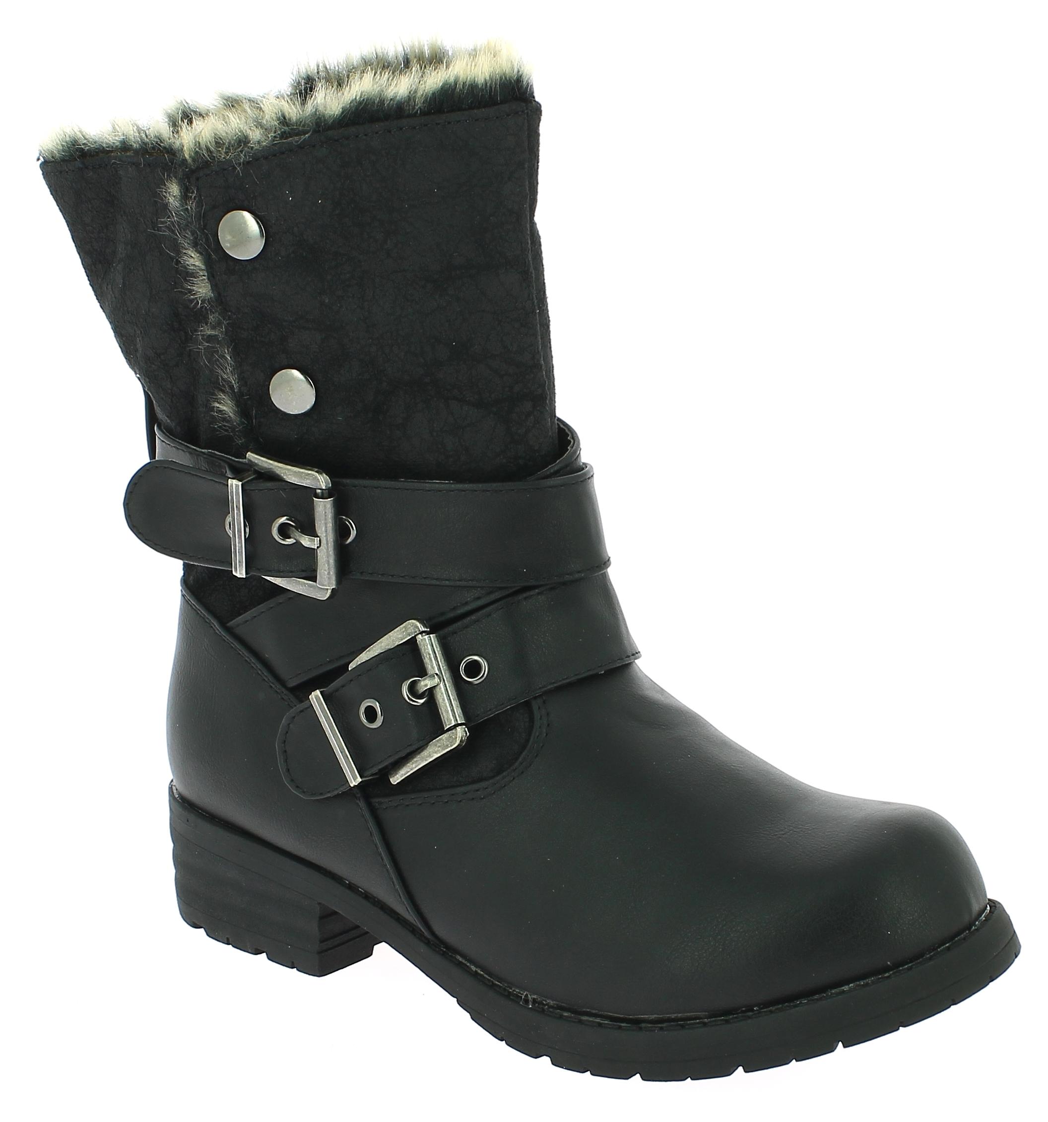 IQSHOES Γυναικείο Μποτάκι 2374202 Μαύρο - IqShoes - 2.374202 BLACK-black-37/1/15  week s best seller