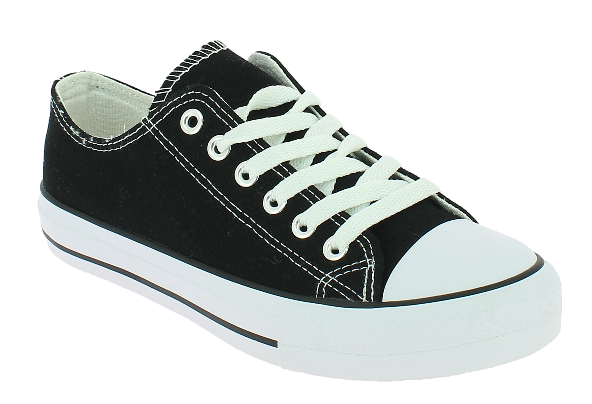 DEMAX Unisex Casual A1612K Μαύρο - IqShoes - A1612K BLACK 35/41-black-36/1/15/7  styling tips outfits