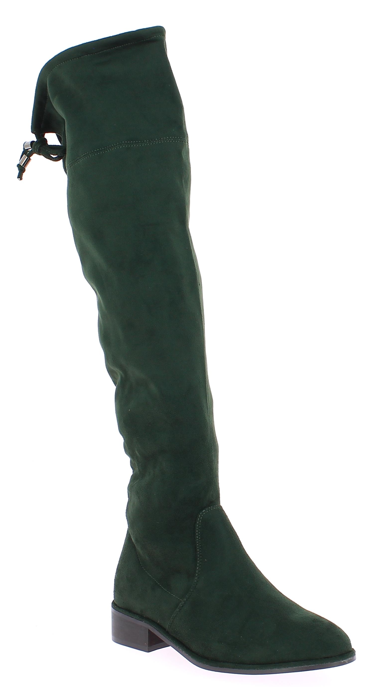 CORINA Γυναικεία Μπότα C7835 Κυπαρισσί - CORINA - C7835 VERDE-Verde-37/1/4/27 παπούτσια  new in