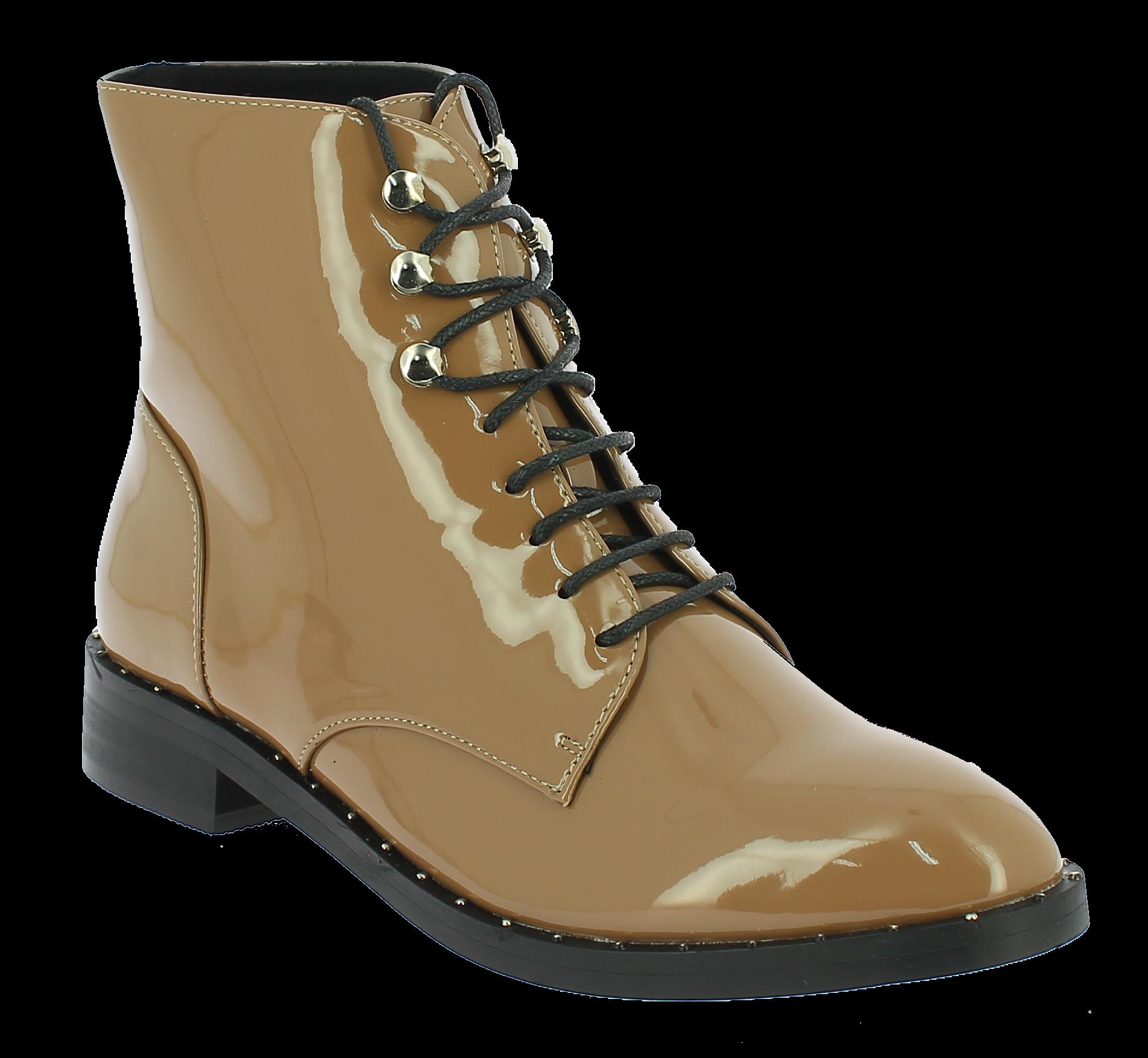 CORINA Γυναικείο Μποτάκι C7821 Μπέζ - IqShoes - C7821 PIEDRA-beige-37/1/7/27 παπούτσια  new in