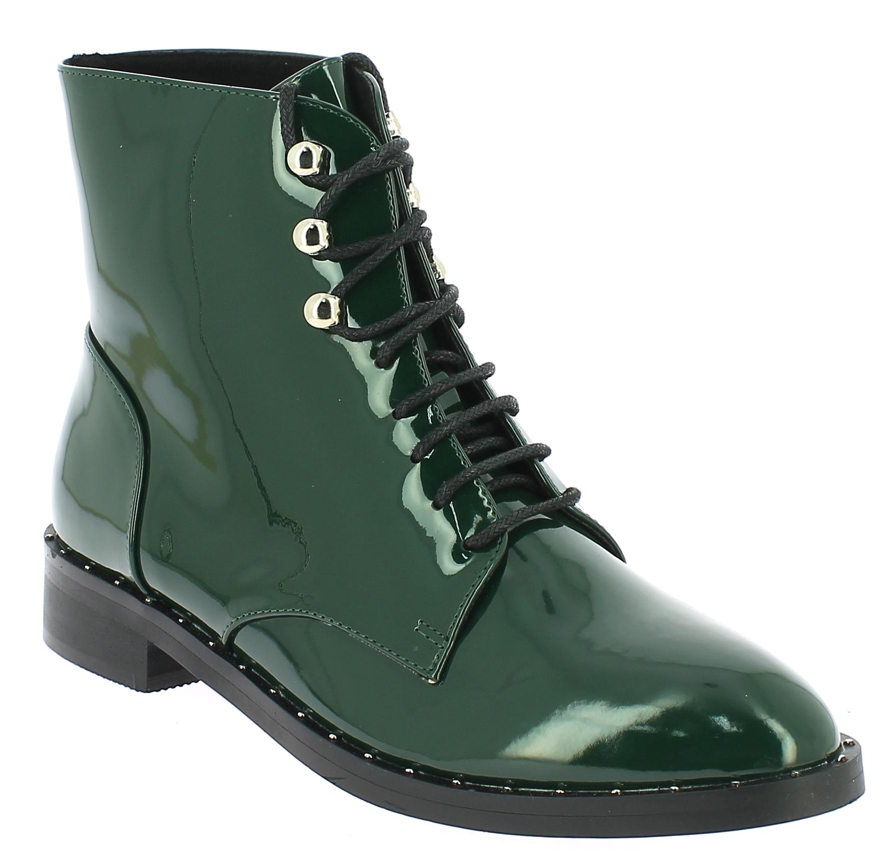CORINA Γυναικείο Μποτάκι C7821 Κυπαρισσί - CORINA - C7821 VERDE-Verde-37/1/4/27 παπούτσια  new in