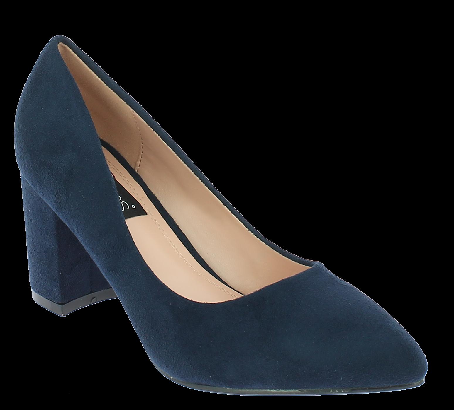 IQSHOES Γυναικεία Γόβα TY813 Μπλε - IqShoes - TY813 BLUE-blue-36/1/23/7 παπούτσια  γόβες