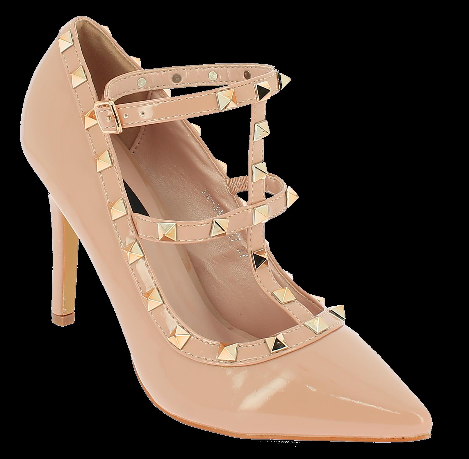 IQSHOES Γυναικεία Γόβα 3A11 Μπεζ - IqShoes - 3A11 BEIGE-beige-36/1/7/7 παπούτσια  γόβες
