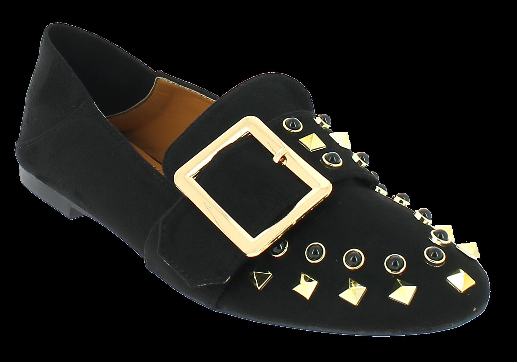 8cc9700502 IQSHOES Γυναικεία Μπαλαρίνα 17451 Μαύρο IqShoes BLACK black 41 1 15 ...