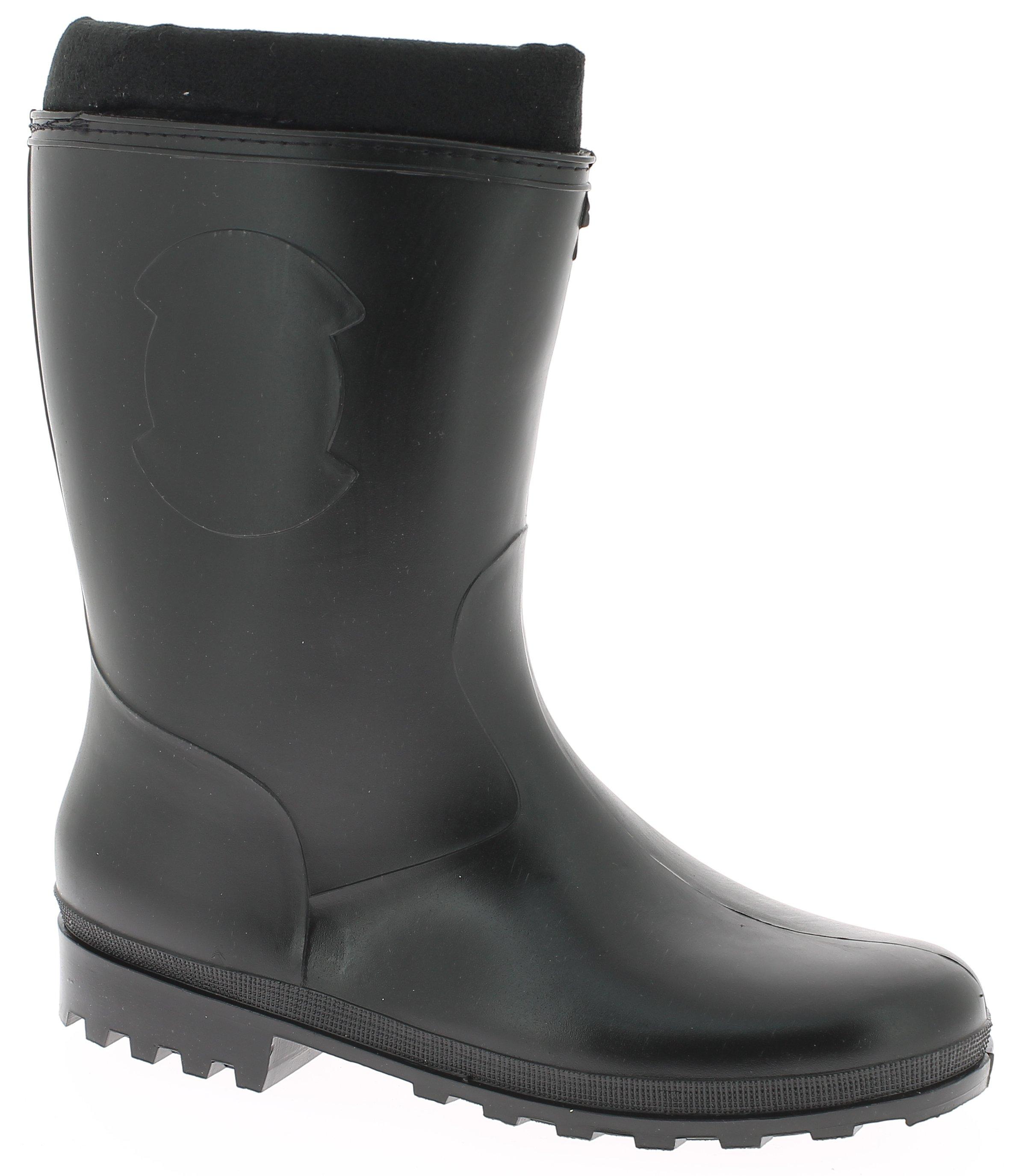 IQSHOES Γαλότσα Γυναικεία 338-3 Μαύρο - IqShoes - 338-3 black black 35/1/15/29 παπούτσια  προσφορεσ