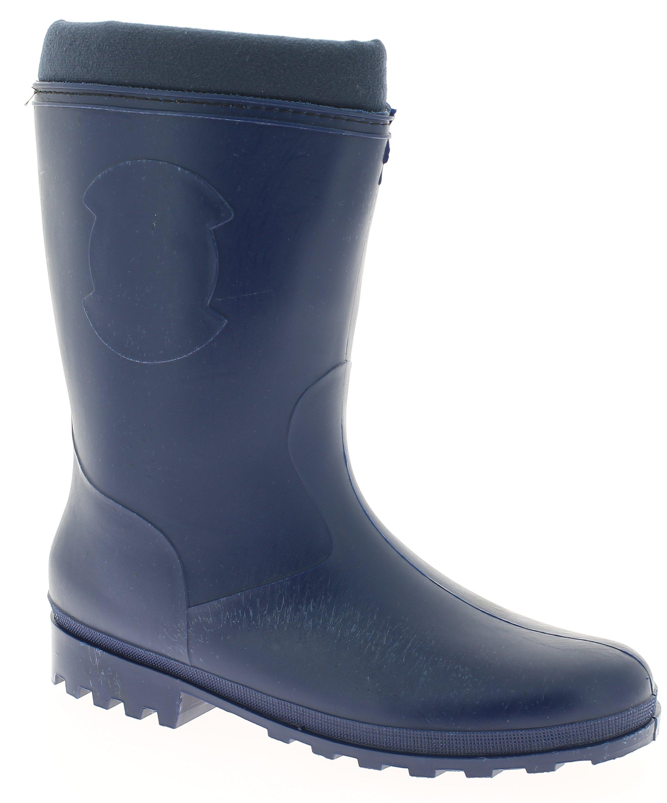 Γαλότσα Γυναικεία 338-3 Μπλε - IqShoes - 338-3 blue blue 40/1/23/8 παπούτσια  προσφορεσ