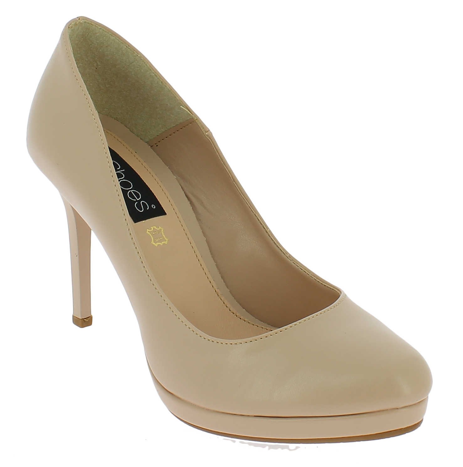 IQSHOES Γυναικεία Γόβα 1120 Μπεζ - IqShoes - 41.1120 BEIGE-beige-36/1/7/7 παπούτσια  γόβες