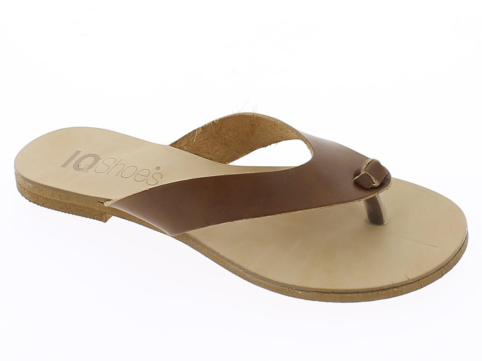 IQSHOES Γυναικεία Σανδάλια T184-07 Καφέ - IqShoes - T184-07 BROWN -IQSHOES-brown παπούτσια  προσφορεσ
