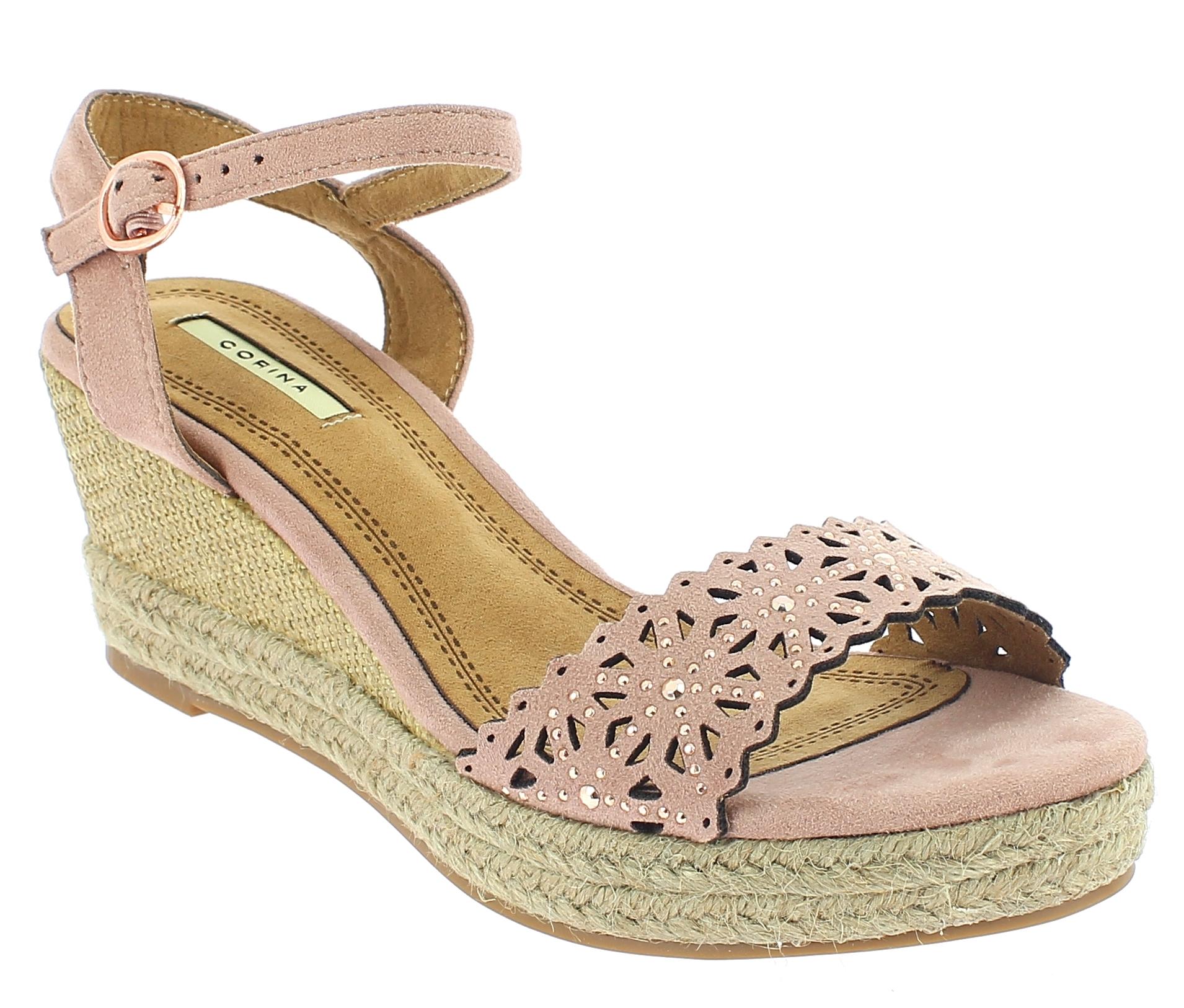 CORINA Γυναικεία Πλατφόρμα C8371 Ροζ - IqShoes - C8371 ROSA-CORINA-pink-40/1/11/ παπούτσια  new in