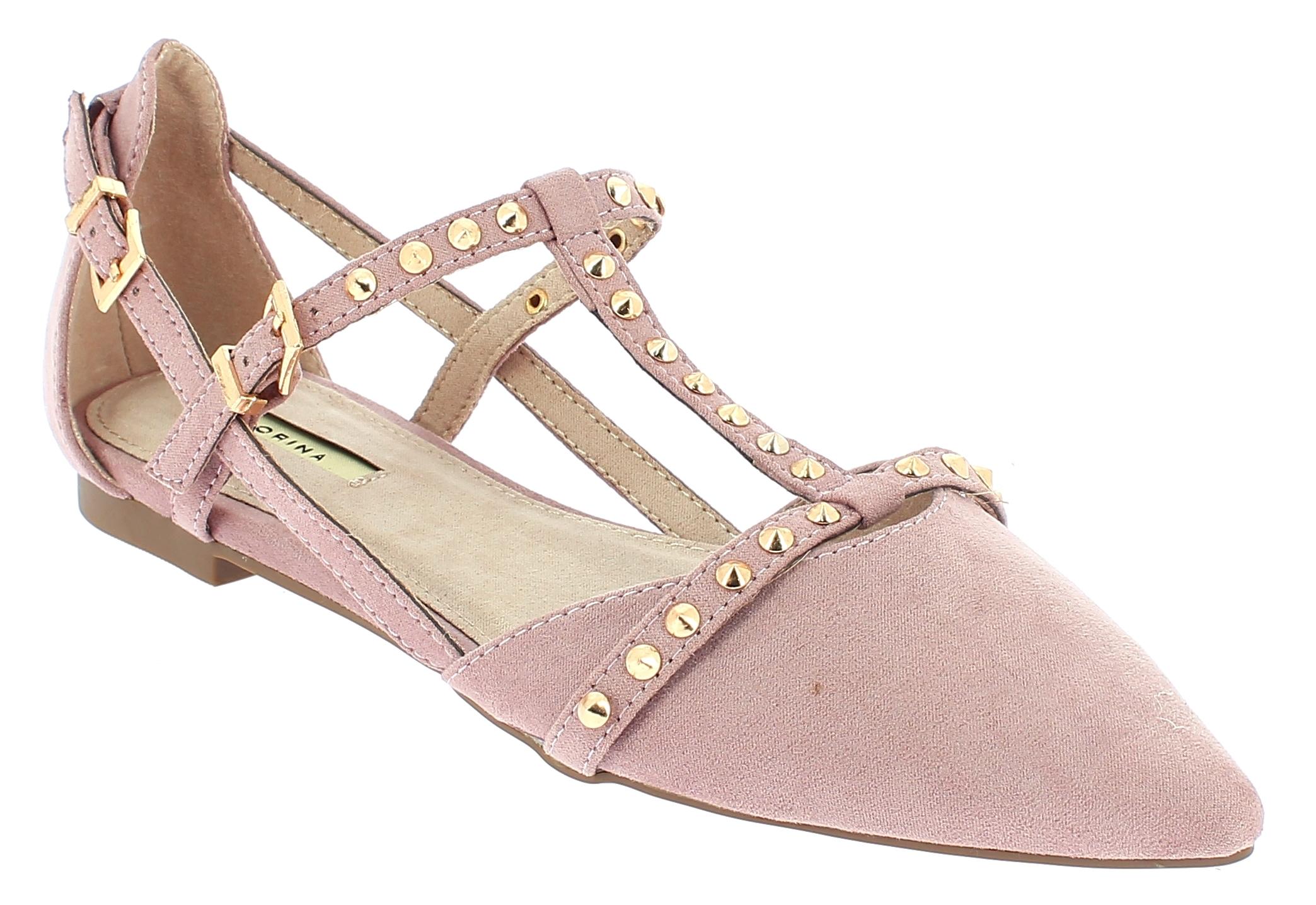 CORINA Γυναικεία Μπαλαρίνα C8236 Ροζ - IqShoes - C8236 ROSA-CORINA-pink-37/1/11/ παπούτσια  new in