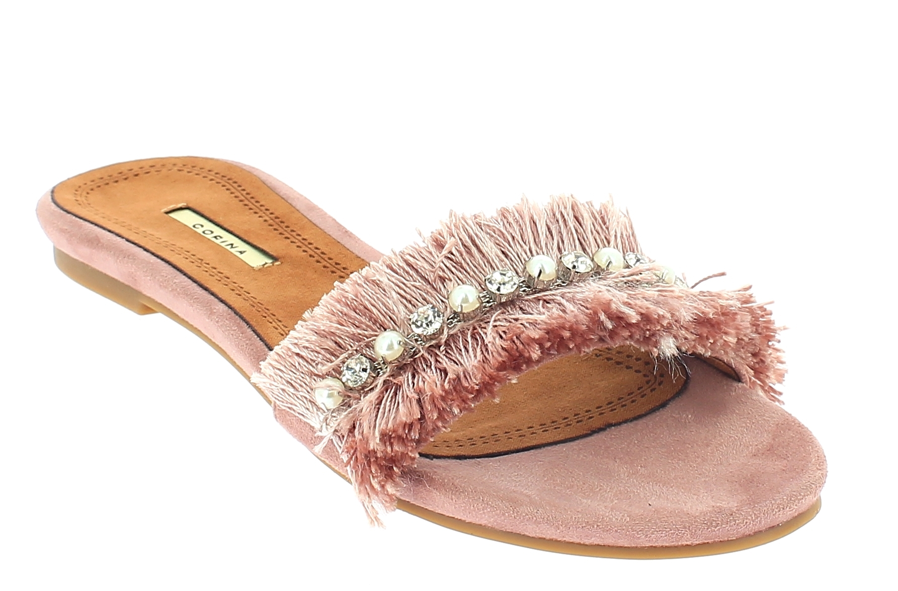 CORINA Γυναικεία Σανδάλια C8459 Ροζ - IqShoes - C8459 ROSA-CORINA-pink-37/1/11/2 παπούτσια  new in