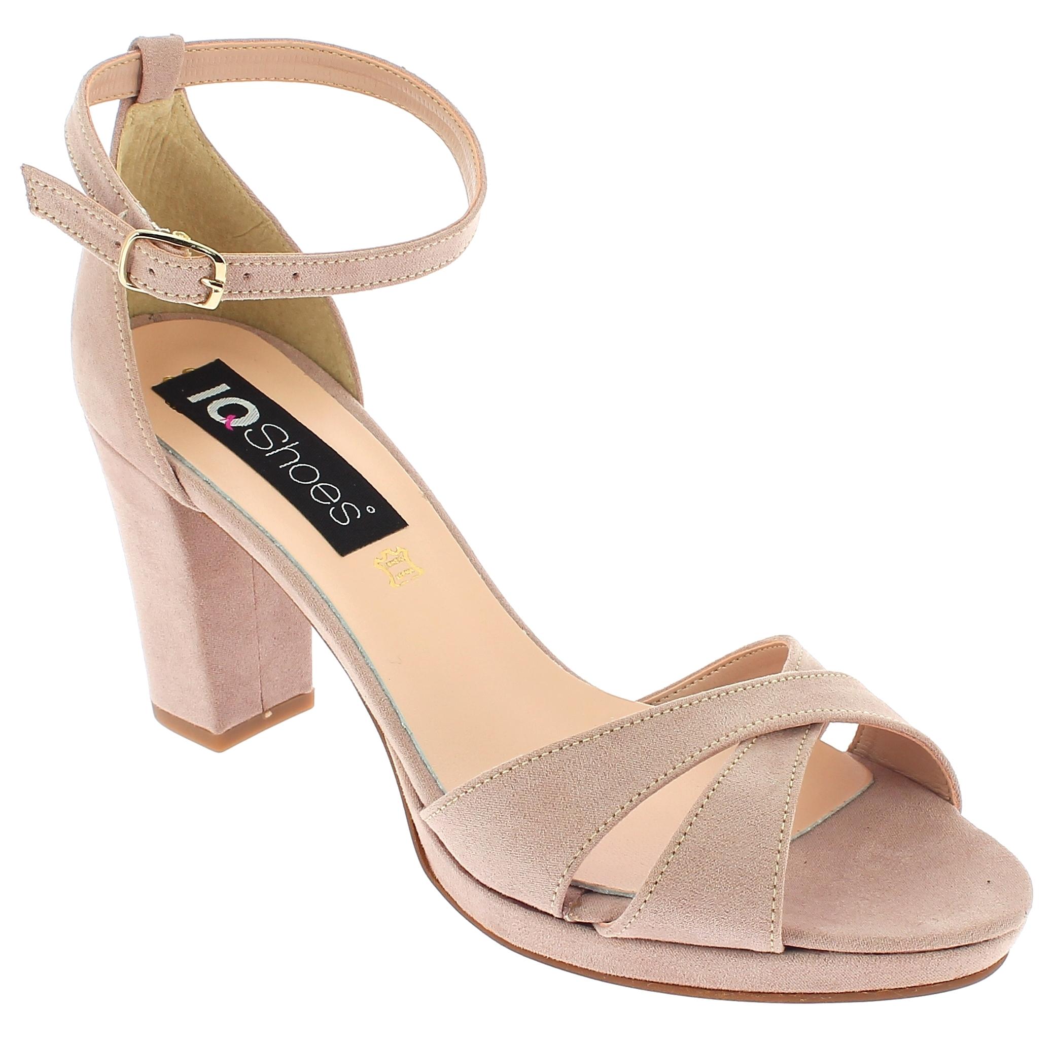 IQSHOES Γυναικείο Πέδιλο 306 Μπεζ - IqShoes - 41.306 BEIGE-IQSHOES-beige-37/1/7/ παπούτσια  γυναικεία σανδάλια   πέδιλα