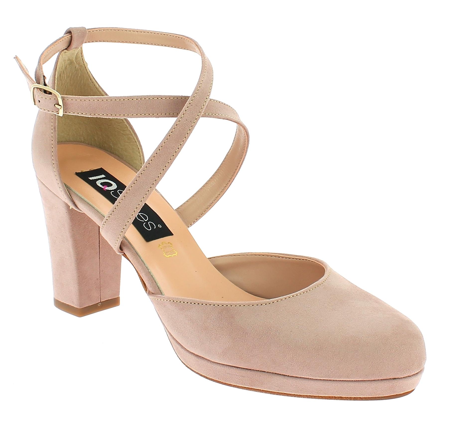 IQSHOES Γυναικείο Πέδιλο 310 Μπεζ - IqShoes - 41.310 BEIGE-IQSHOES-beige-37/1/7/ παπούτσια  γυναικεία σανδάλια   πέδιλα