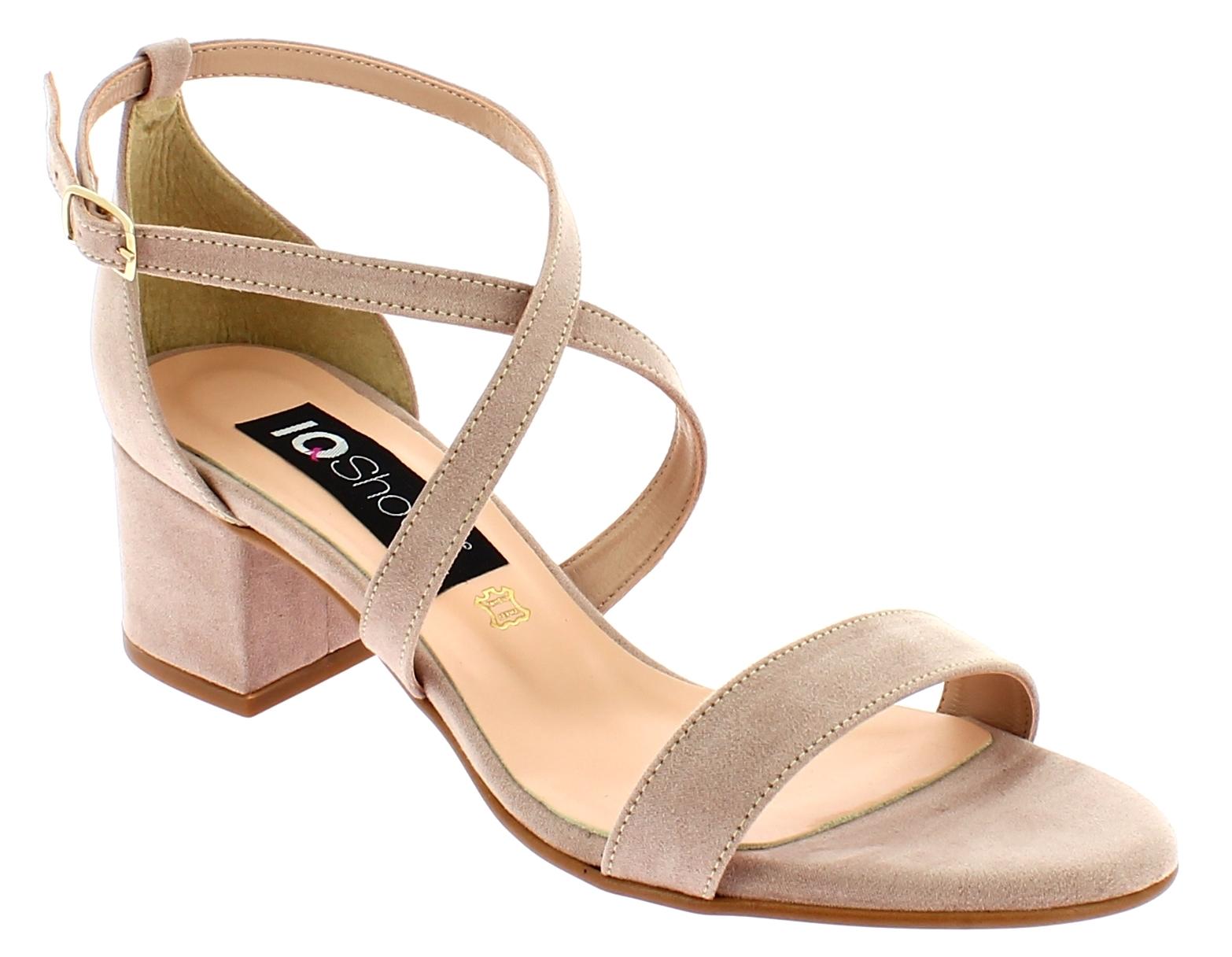IQSHOES Γυναικείο Πέδιλο 452 Μπεζ - IqShoes - 41.452 BEIGE-IQSHOES-beige-37/1/7/ παπούτσια  new in