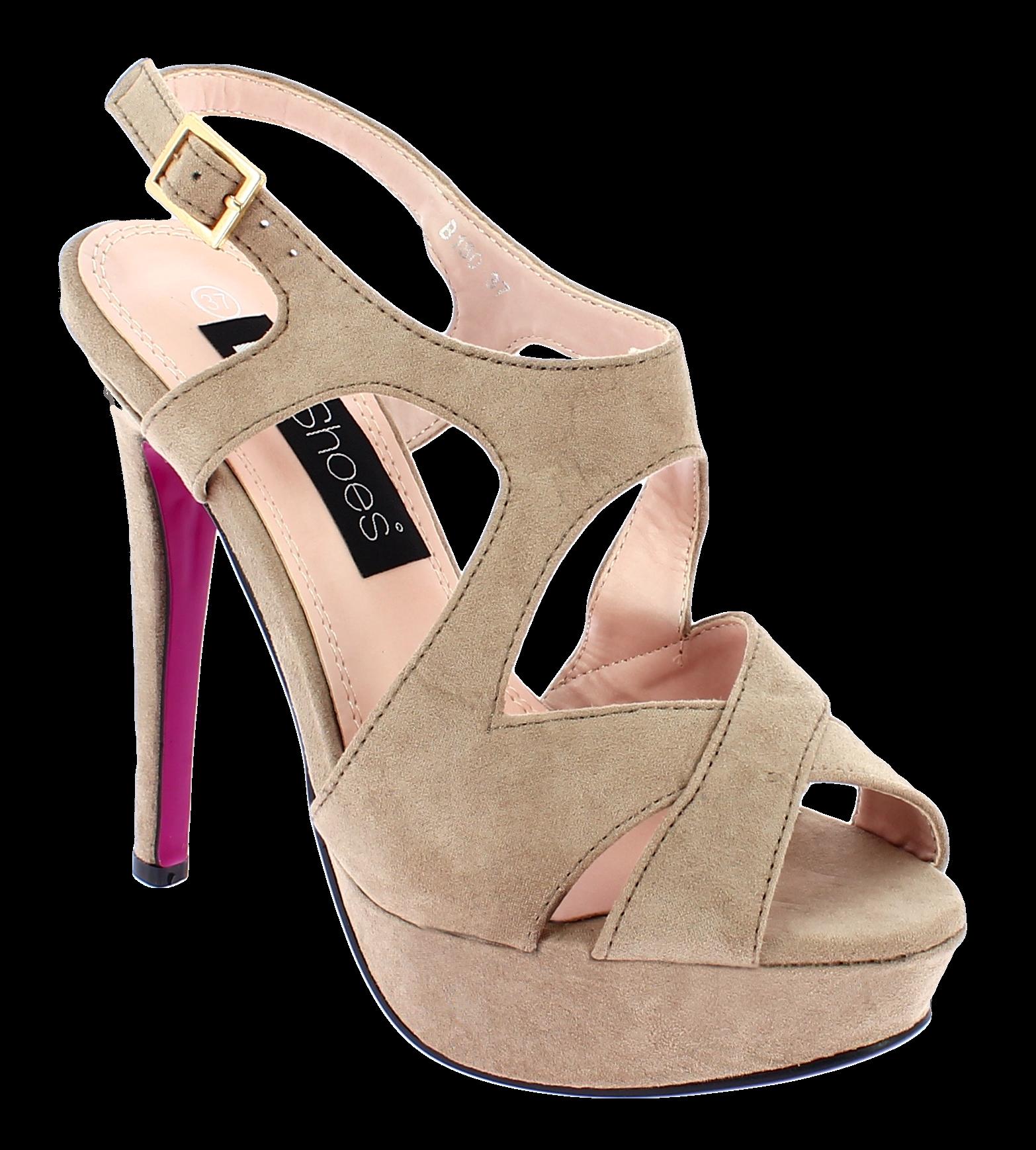 IQSHOES Γυναικείο Πέδιλο B180 Μπεζ - IqShoes - B180 BEIGE-IQSHOES-beige-37/1/7/2 παπούτσια  γυναικεία σανδάλια   πέδιλα