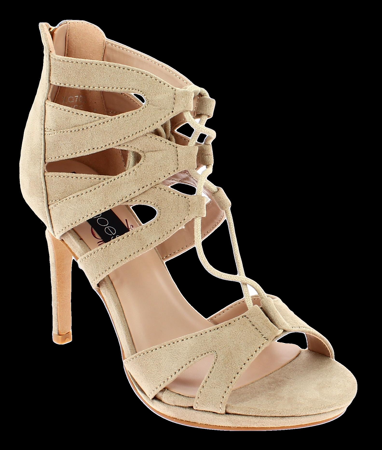 IQSHOES Γυναικείο Πέδιλο XQ703 Μπεζ - IqShoes - XQ703 BEIGE-IQSHOES-beige-37/1/7 παπούτσια  γυναικεία σανδάλια   πέδιλα