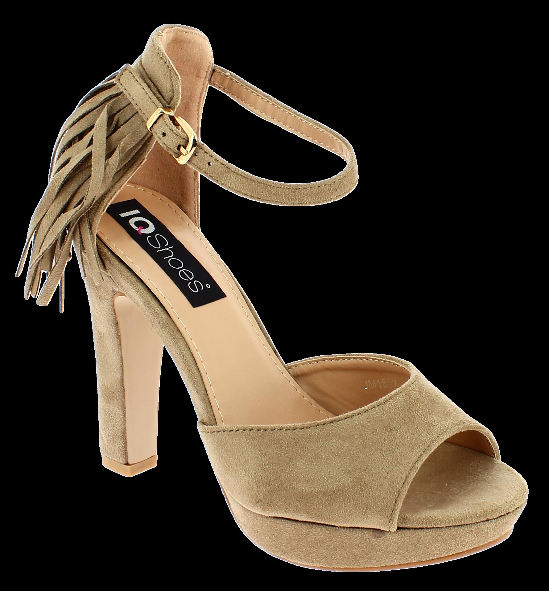 IQSHOES Γυναικείο Πέδιλο JM1507 Μπεζ - IqShoes - JM1507 BEIGE-IQSHOES-beige-37/1 παπούτσια  γυναικεία σανδάλια   πέδιλα